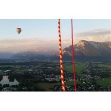 Exklusive Ballonfahrt über die Stadt Salzburg - nur bei uns buchbar - für bis zu drei Personen - ein ganzer Ballonkorb nur für Sie und Ihre Begleitung